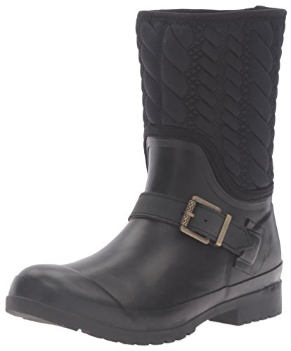 Sperry Top-Sider Women's Walker Fog Rope Rain Boot - Blac...