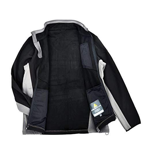 Nero Nero Abbigliamento Lunga Soft Manica Casual Protettivo Protettivo Delta da CASSIDY Uomo Giacca Giacca Sports Impermeabile Impermeabile q6wRYn