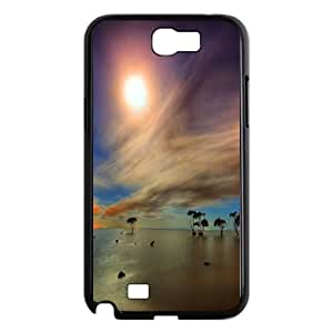 Samsung Galaxy N2 7100 Cell Phone Case Black_Game of Colors Landscape TR2349782