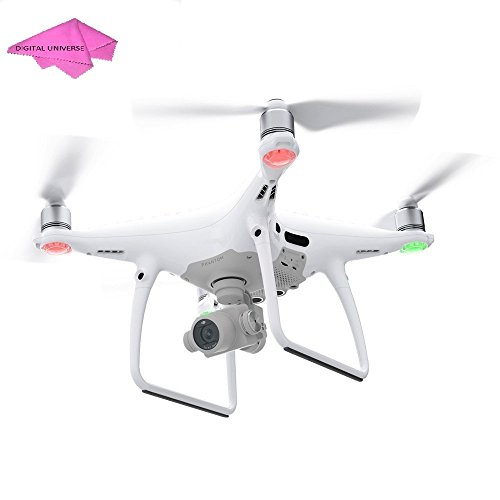 DJI Phantom 4 PRO Professional Drone, Hobby RC Quadcopter & Multirotor, White, CP.PT.000488 plus accessories