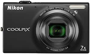 Nikon COOLPIX S6100 16 MP Digital Camera with 7x NIKKOR Wide-Angle Optical Zoom Lens and 3-Inch Touch-Panel LCD (Black)