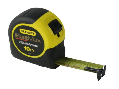 Stanley STA033811 Fatmax Tape Blade Armor, 10m Length (Metric Tape Measure Stanley)