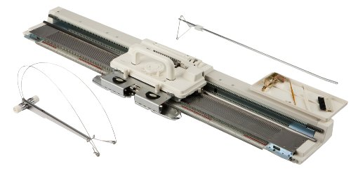Silver Viscount Reed SK280 Knitting Standard Gauge Machine by Silver Viscount by Silver Reed