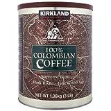 Kirkland柯克兰牌哥伦比亚咖啡粉1360g (1.36)