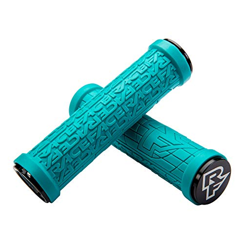 Race Face Grippler Lock-On Grips Turquoise, 33mm