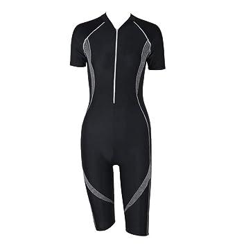 d09f7609338fb Girls Women's Surf Suit Shorty One-piece Wetsuit Sun Protection Swimsuit  Surf Suit Conservative Boxers