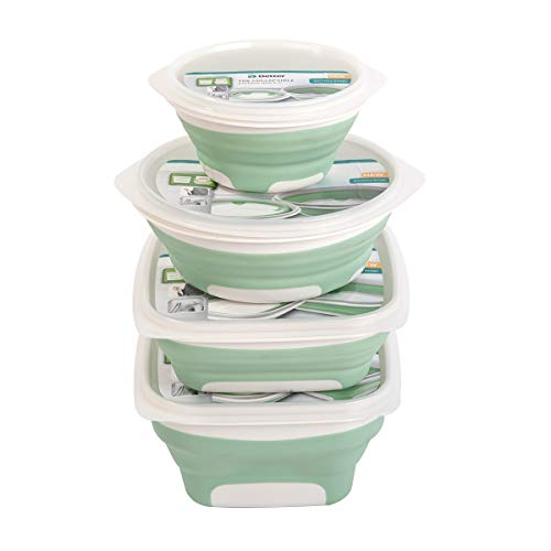 colapsable lunch container - 9
