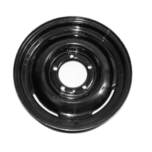 Omix-Ada 16725.01 Black Steel Wheel (16 x 5.75-Inch) from Omix-Ada