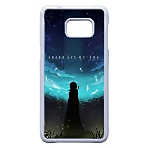 Anime Series Cartoon Design Sword Art Online Protective Case for Samsung Galaxy S6 Edge Plus Case JS008