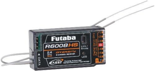 Futaba R6008HS 2.4GHZ FASST RX 8 Channel Receiver