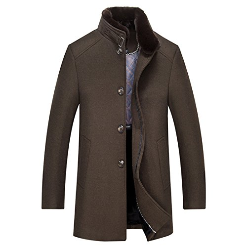 Men's Clothes | Winter jackets long-long casual menswear | Middle-aged men's casual jackets | Men Coat,Winter Jacket Coffee