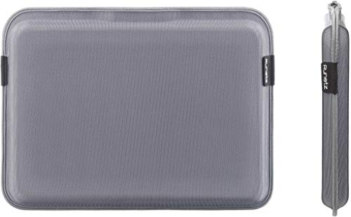 (Runetz - 15-inch GRAY Sleeve Magnetic Hard Cover for MacBook Pro 15.4