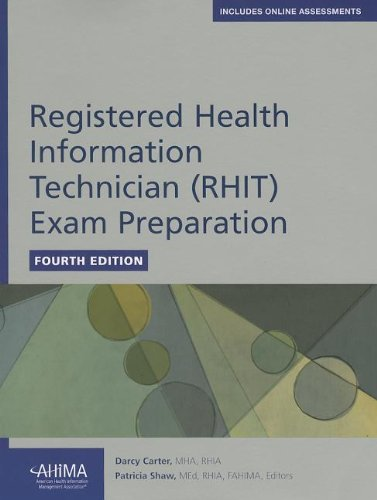 Registered Health Information Technician (RHIT) Exam Preparation