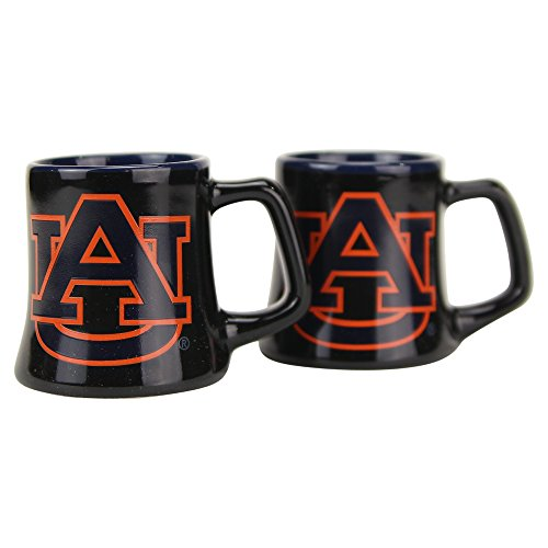 pted Mug 2oz Shot Glass 2-Pack (Auburn Tigers) ()