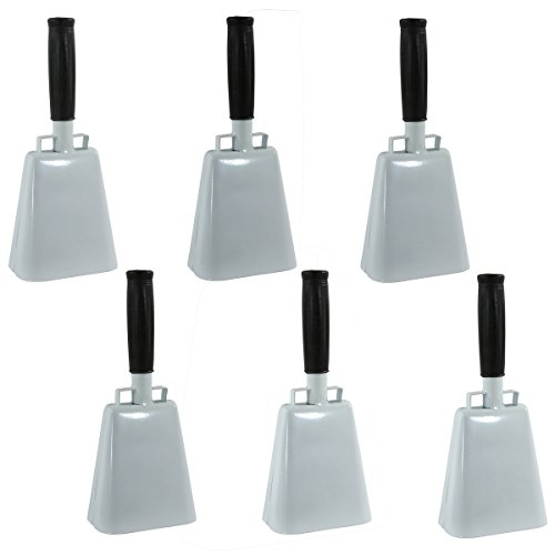 Cow Bell Set in White