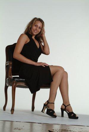 Juzo Hostess Pantyhose With High Elastic Body Part 20-30mmHg Closed Toe, IV, Noblesse by Juzo