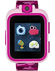 iTouch Playzoom Kids Smart Watch with Digital Camera and Video Recorder (Pink Camo)