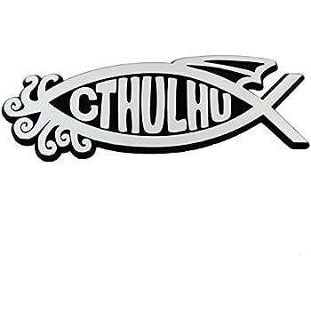 4b612d04cd8 Amazon.com  Gefilte Fish Chrome Auto Emblem - 5