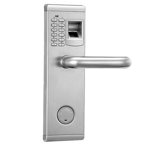 Aegis - State-of-the-art 3D Optical Sensor Premium Biometric Fingerprint Door Lock with Deadbolt (Bolt Spc)