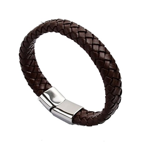 BL1290005C2 2016 Cortical Europe Wave Weave Men's Bracelet