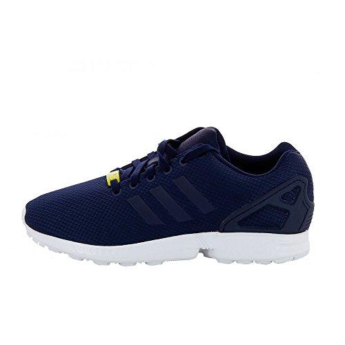 Adidas - zx flux m19841 - m19841 - bleu baskets mode homme
