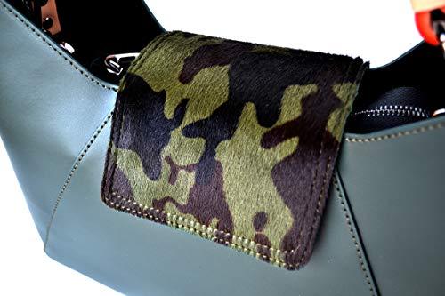 EMY y en Italia cuero de de la Made Millennium camuflaje Star bolso en real mujer pieles B7qwvfq
