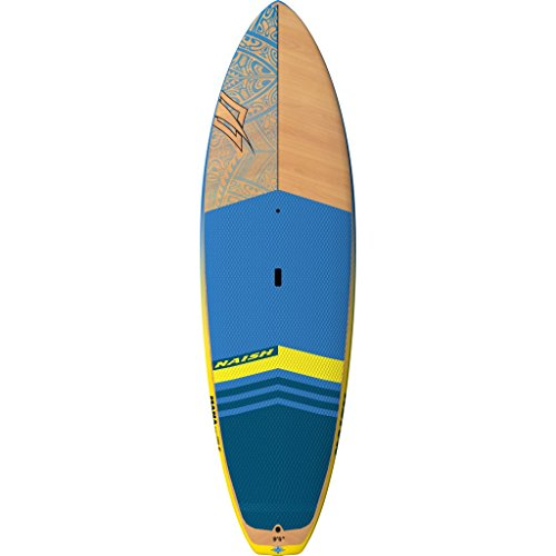 Naish Mana Stand Up Paddle Board | Blue/Yellow - 9'5'' by Naish