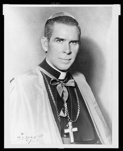Photo: Bishop Fulton J. Sheen Roman Catholic c1952 (Roman Catholic Pictures)