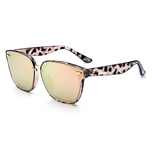 Las Gato C3 Aire de Ojos Ligero Decoración Mujer UV Gafas Mujeres de de Libre de de Sol Clase para al de Viajar Protección Ultra Superior Remache Color Conducción Lente wEqZfCw