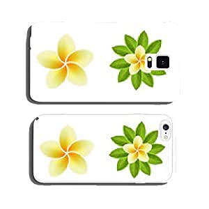 Set of Tropical Flowers cell phone cover case iPhone5