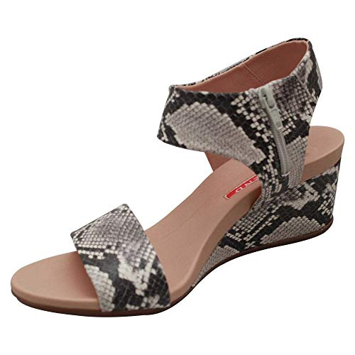 Grey Sandal Strap Pedro Multi Ankle Miralles Wedge OqwwIX1