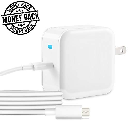 """USB C Charger,30w PD Fast Wall Charger for Macbook 12"""",QC 3.0 USB C Power Adapter Quick Charge to pixel 2,nintendo switch.Android Wall plug for samsung s8,Huawei P9/P10,nexus 6p,more usb c smartphone. by Powersave"""