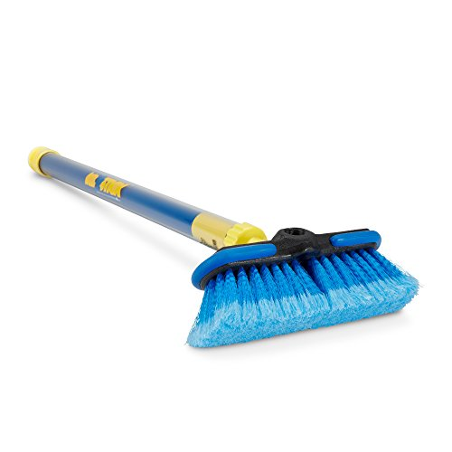 Vehicle Wash Brush (Auto Right Easy Wash Stick C800887 Car Washing Tool for Vehicles, RV Washing, Car Wash Brush, Car Washing Tools, Extend Handle for Added Reach)