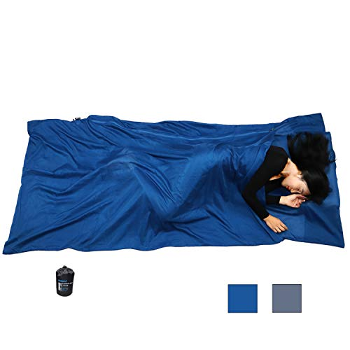 (Browint Silk/Cotton Travel Sheet with Double Zippers, 87