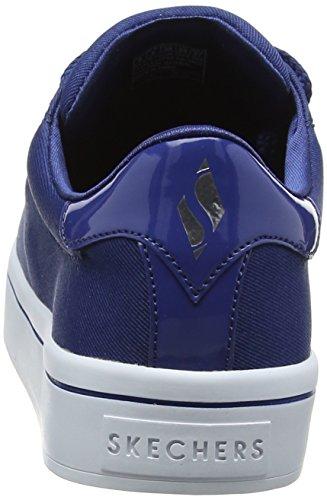 Skechers Donne Hi Tappi Raso Lite Scarpa Da Tennis Blu (navy)