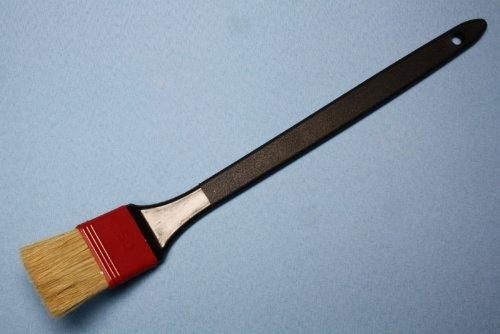 Beizpinsel 50mm gekröpft metallfrei made in Germany 42cm lang für Beizpaste