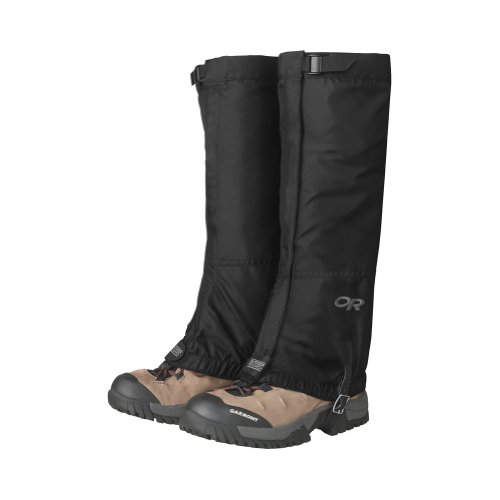 Outdoor Research M's Rocky Mountain High Gaiters (Black, Medium) by Outdoor Research