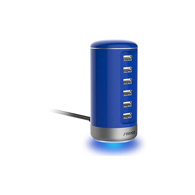 6 Port USB Charging Station - Seenda USB