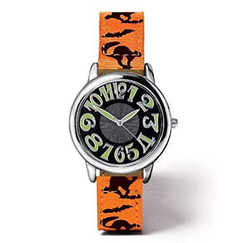 Avon Halloween Haunts Strap Watch Glow in Dark Hands & Numbers -
