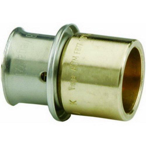 Viega PureFlow 2813.5ZL Bronze PEX Adapter, 1''