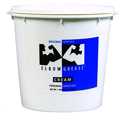 (Elbow Grease Premium Original Formula Oil Based Cream Lubricant : Size 128 Oz - 1 Gallon Bucket with Handle by Mestyle )