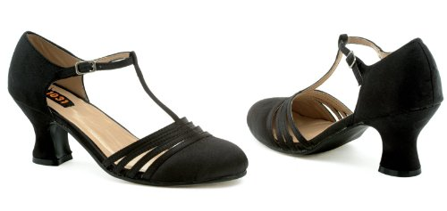 Lucille (Black) Adult Shoes - (Murder Mystery Costumes Fancy Dress)