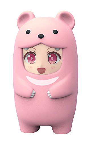 Nendoroid (PVC figure) also come stuffed-animal suit face parts case pink bear non-scale ABS pre-colored completed parts case (Figurine Original Box)
