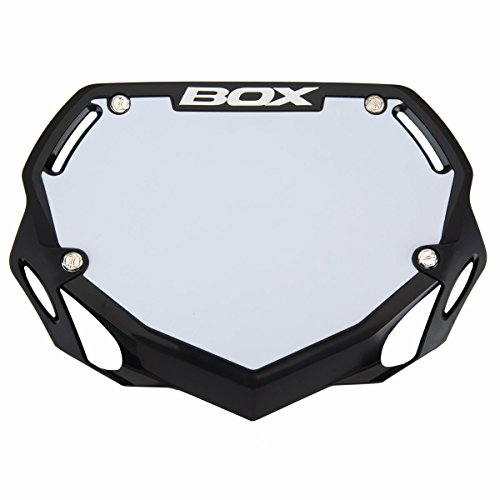 BOX COMPONENTS Phase 1# Plate, Small, Black (Best Number Plates For Bikes)