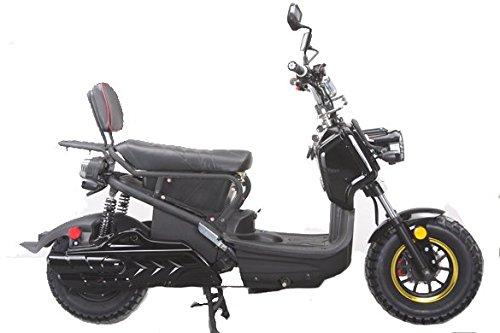 Emmo Monster 72V Electric Bike eBike Scooter (Black), Electric