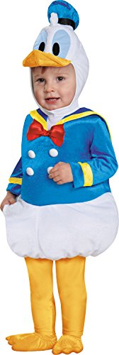 Disney Disguise Baby Boys' Donald Duck Prestige Infant Costume, Blue, 6-12 Months ()