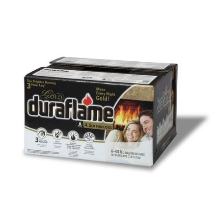 Duraflame 6 Count GOLD LOGS