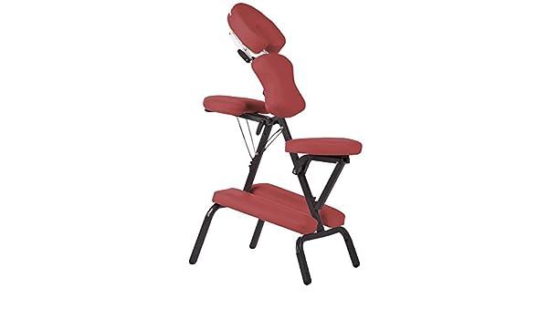 Silla de masaje fisioterapia rehabilitacion - rojo: Amazon ...