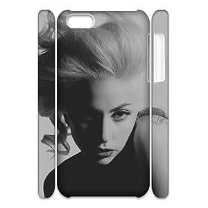 C-EUR Diy 3D Case Lady Gaga for iPhone 5C
