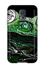 For LsrOAnC8274zkTdd Abstract Fractalius Protective Case Cover Skin/galaxy S5 Case Cover